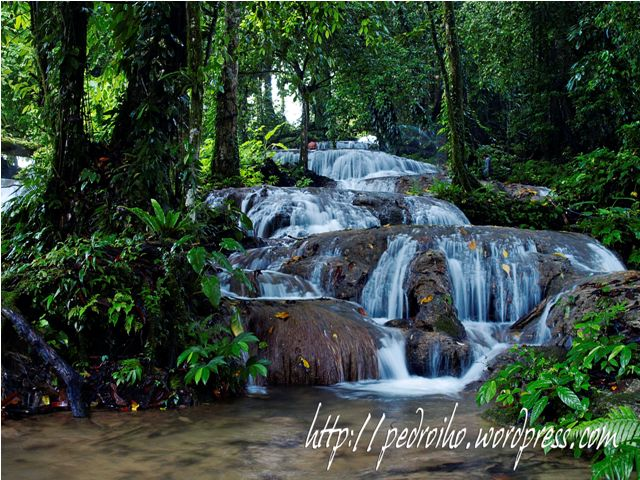 Cateel davao oriental refreshing landmarks aliwagwag for Rainwater falls massage